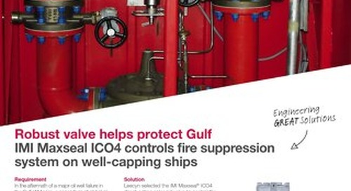 ICO4 Controls Fire Suppression System case study
