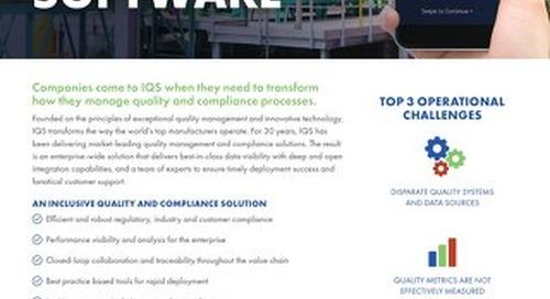 IQS Overview Brochure