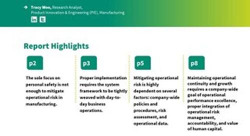 Optimizing Organizational Performance with Operational Risk Management