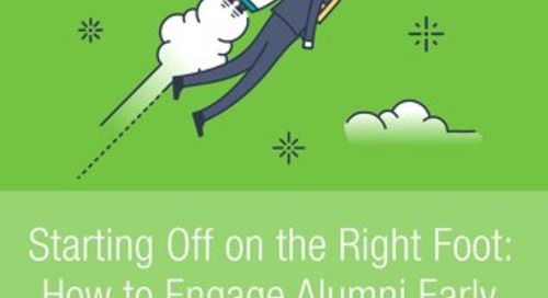 Alumni Engagement: Starting Off on the Right Foot