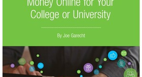 Raising More Money Online for Your College or University