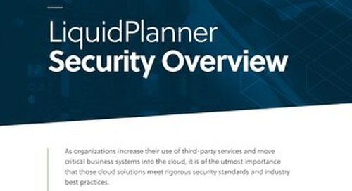 LiquidPlanner Security Overview