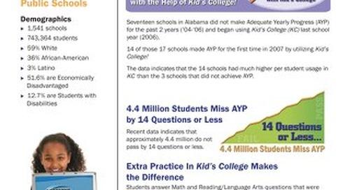 State of Alabama Public Schools Success Story