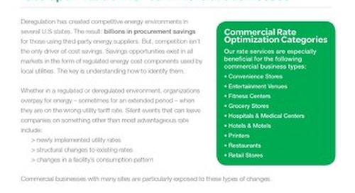 Commercial Rate Optimization