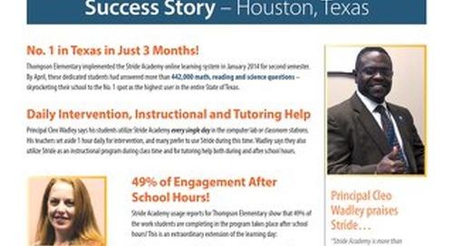 Thompson Elementary — Houston, Texas