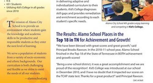 Alamo City School, TN Success Story
