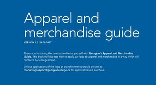 Georgian College Apparel and Merchandise Guide