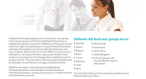 About international user groups