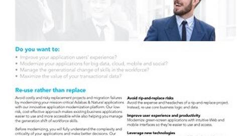 Adabas & Natural Application Modernization Platform