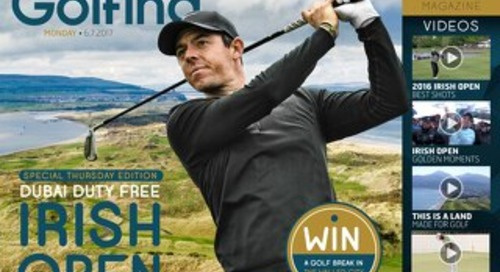 Thursday 6th July 2017 - Irish Open