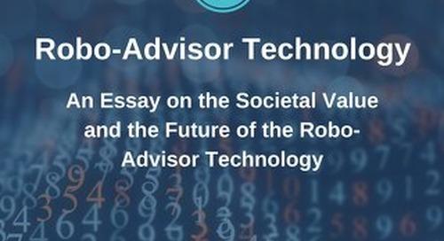 Robo Advisor Essay