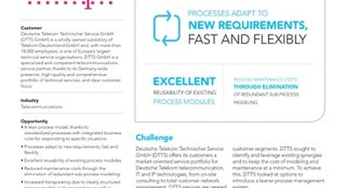 DTTS optimizes service with process management