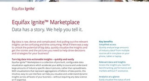 Ignite Marketplace - Data has a story to tell. We help you tell it.