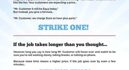 The Three Strikes of Pricing