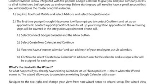 Getting Started With Google Calendar