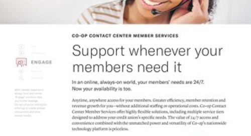 Card Support Services Slipsheet