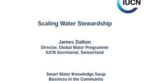 BITC Smart Water event James Dalton