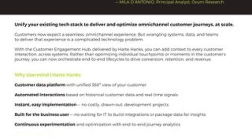 The Customer Engagement Hub