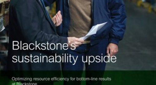 Resource Efficiency at Blackstone