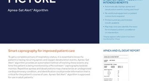 Apnea-Sat Alert™ Algorithm Brochure