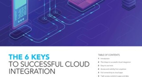 The Six Keys to Successful Cloud Integration