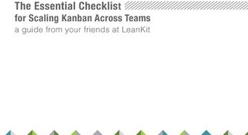 Essential Checklist for Scaling Kanban Across Teams