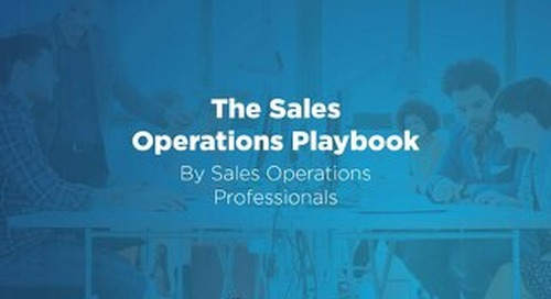 The Sales Ops Playbook