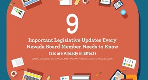 9 Important Legislative Updates Every Nevada Board Member Needs to Know