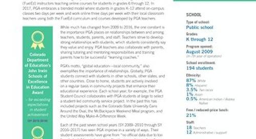 PSD Global Multi-Year Case Study
