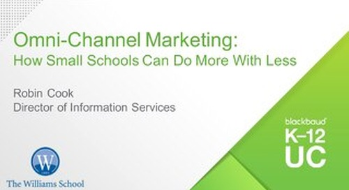 Omnichannel Marketing: How Small Schools Can Do More with Less