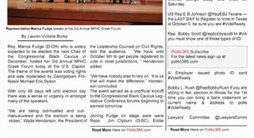 Congressional Black Caucus Edition