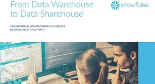 From Data Warehouse to Data Sharehouse™