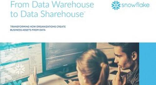 From Data Warehouse to Data Sharehouse™