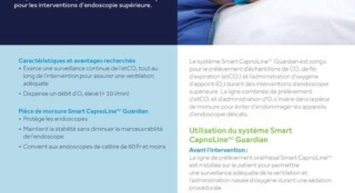 Brochure du système Smart CapnoLine™ Guardian