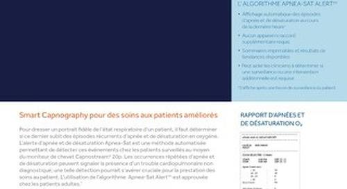 Brochure sur l'algorithme Apnea-Sat Alert™
