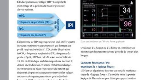 Algorithme de l'Indice Pulmonaire Intégré™ (IPI)