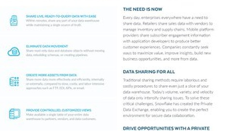 Data Sharing Solution Brief