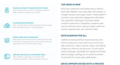 Data Sharing Solution Brief