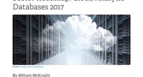 Gigaom Sector Roadmap: Cloud Analytic Databases 2017