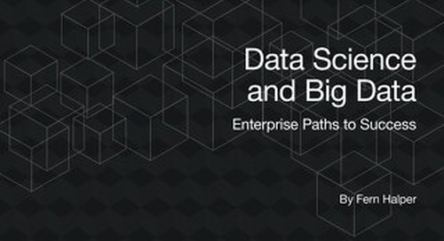 TDWI Best Practices Report: Data Science and Big Data: Enterprise Paths to Success