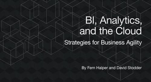 TDWI Best Practices Report: BI, Analytics and Cloud Strategies