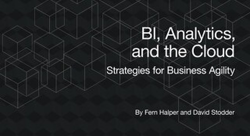 TDWI Best Practices Report: BI, Analytics and Cloud Strategies