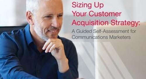 Data-driven Marketing Self-Assessment for Communications