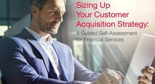 Data-driven Marketing Self-Assessment for Financial Services