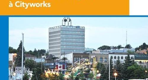 La Ville de Barrie fait des pas de géant dans la gestion des infrastructures grâce à Cityworks