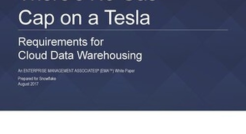 EMA - Requirements for Cloud Data Warehousing