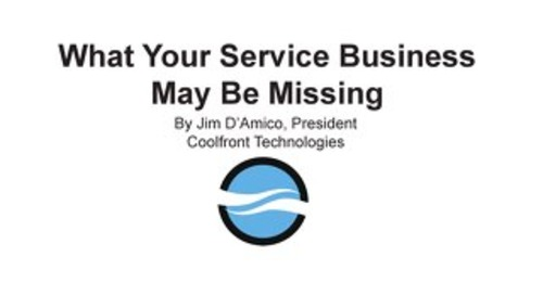 What Your Service Business May Be Missing