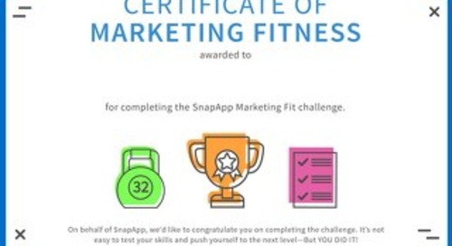 Marketing Fit Certificate