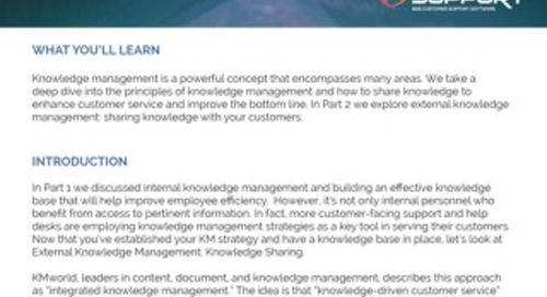 Knowledge Management Part 2