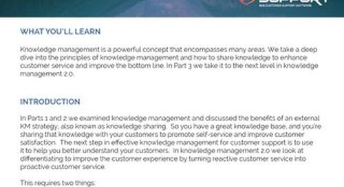Knowledge Management Part 3